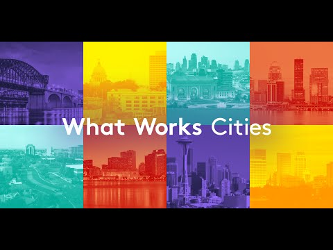 Thumbnail for Celebrating data and evidence at the 2017 What Works Cities Summit