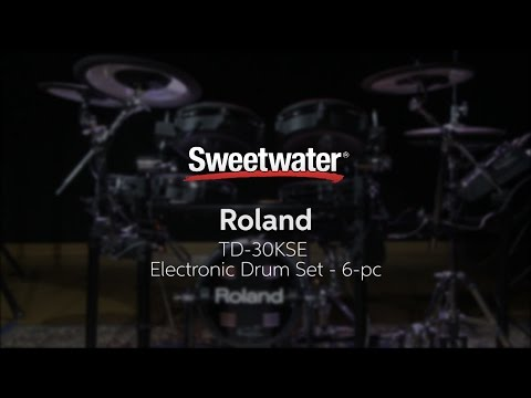 Roland TD-30KSE Electronic Drum Set Review by Sweetwater