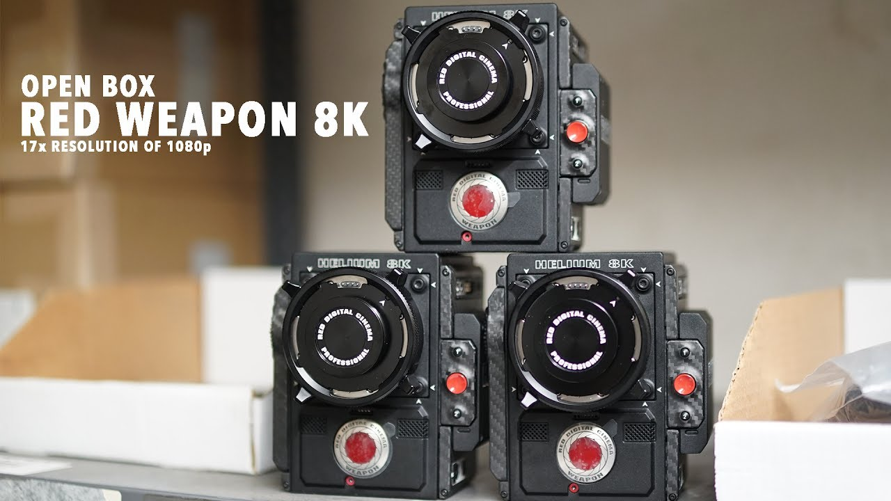 Open Box: RED Weapon 8K $80,000 DOLLAR CAMERA!