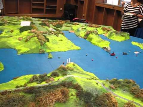 Model of Panama Canal 2014