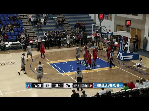 Highlights: Joel Bolomboy (20 points)  vs. the Bulls, 2/27/2017