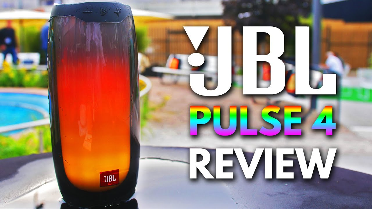 JBL Pulse 4 Review - Best Bluetooth Speaker with RGB LIGHTS 2019 ?!