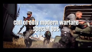 "New! Call Of Duty Modern Warfare ""Spec Ops"" trailer ."