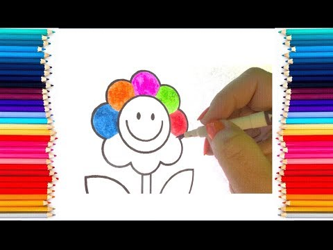 flower-coloring-pages-|-learn-the-colors-for-kids---colouring-pages-for-kids