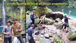 Beginilah Proses Syuting MTMA TransTv di Air Terjun Proklamator Bersama host Denny Sumargo