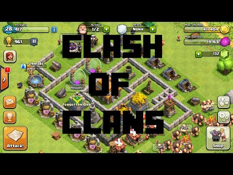 Clash of Clans: Good Trophy/Resource Strategy (Good For Lower Levels Too)