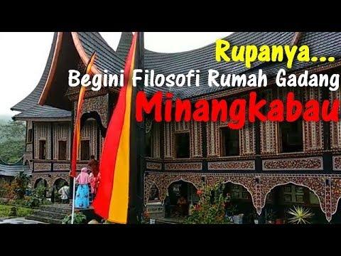 Filosofi Rumah Gadang Minangkabau