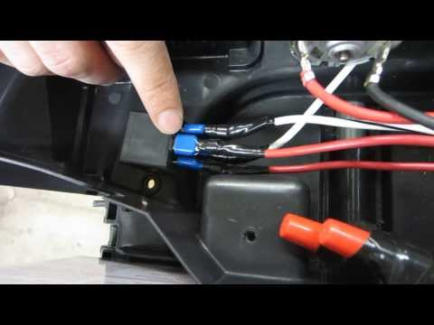12v Switch Adapted Power Wheel Car