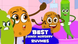Best Hindi Nursery Rhymes | Hindi Rhymes For Kids | Popular Hindi Baalgeet | Hindi Kavita