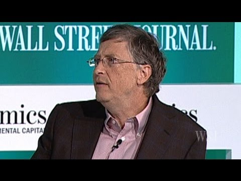 Bill Gates Talks About the Future of Energy