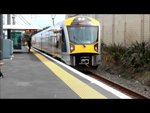 Thumbnail: Trains around auckland