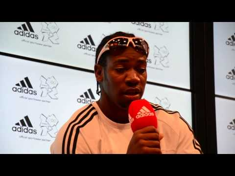 Yohan Blake interview before the greatest show on earth