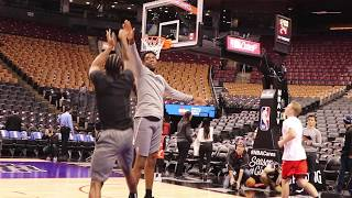 Basketball Drills Used By The Los Angeles Clippers Before Games