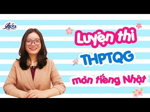 Luyện thi THPTQG môn tiếng Nhật   Akira Education