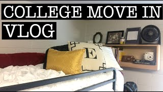 college move in day vlog 2016