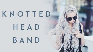 knotted headband tutorial   kirsten zellers