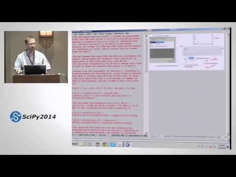 A Success Story in Using Python in a Graduate Chemical Engineering Course| SciPy 2014 | John Kitchin