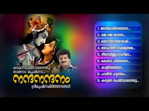 NANDANANDANAM | Hindu Devotional Songs Malayalam | Sree Krishna Audio Jukebox