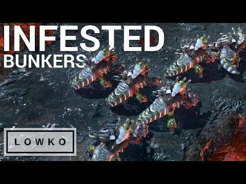 StarCraft 2: MASS INFESTED BUNKERS! (