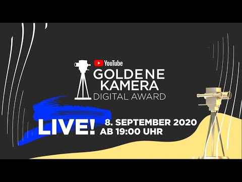 YouTube GOLDENE KAMERA Digital Award 2020
