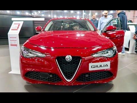 New 2018 Alfa Romeo Giulia Exterior Interior Youtube