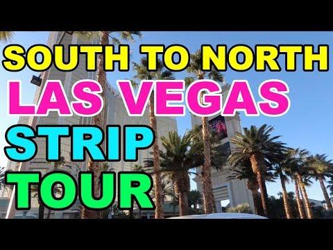 South To North End Tour Of Las Vegas Strip