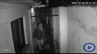 Thieves caught on camera breaking into a house in Mbaruk area in Nakuru County
