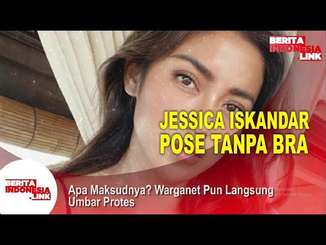 Jessica Iskandar Heboh Gaun Melorot