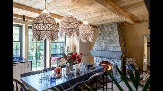 «Дачный ответ» от 07.10.2018. «Кухня-гостиная в сланце и кружевах»