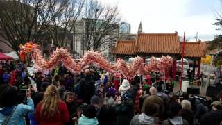 Lunar New Year Celebration in Seattle 2017