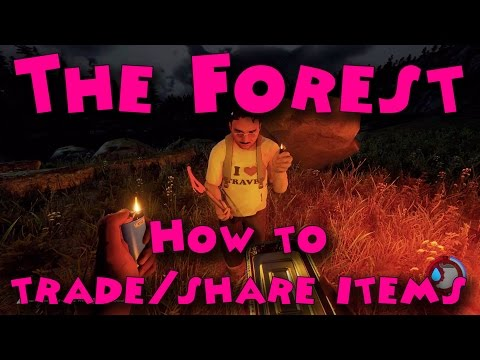 The Forest - How to trade/share items