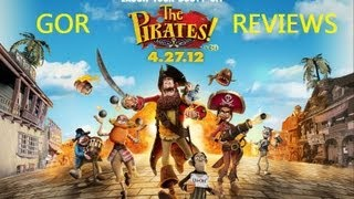 The Pirates! Band of Misfits in 3D (2012) Movie Review