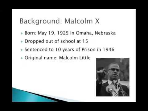 MLK and Malcolm X History