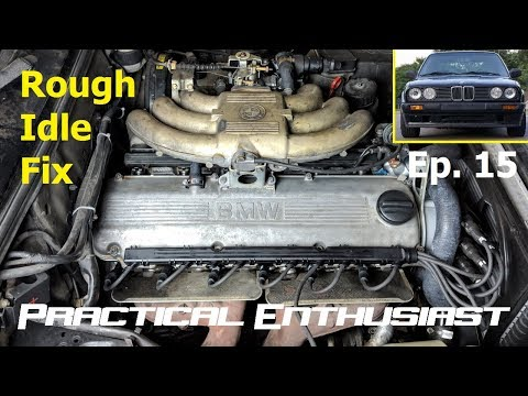Project E30 / Ep  15 / Fixing the Rough Engine Idle - YouTube