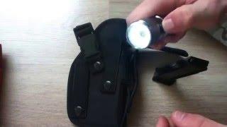 airsoft: holster ambidextre ceinture présentation