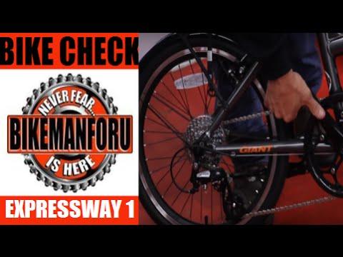 c4edd4c2c03 Giant Bicycles' Expressway 1 - Folding Bike Check - City Commuter -  BikemanforU - YouTube