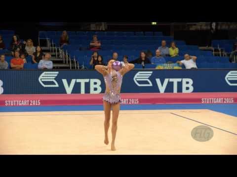 Ana Luiza FILIORIANU (ROU) 2015 Rhythmic Worlds Stuttgart - Qualifications Ball