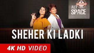 Sheher Ki Ladki | BOLLYWOOD Dance Fitness Choreography by Vijaya Tupurani | Badshah