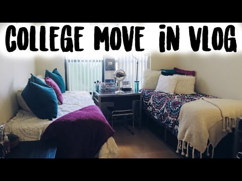 College Move In Vlog 2016: USC