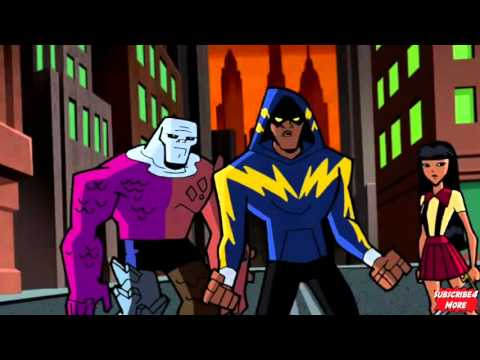 The Outsiders Vs Despero (Batman The Brave And The Bold)