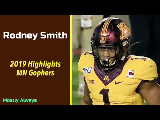 Rodney Smith 2019 Highlights | MN Gophers