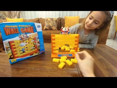 ШАЛТАЙ - БОЛТАЙ детская игра.Humpty Dumptys wall game.