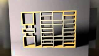 стеллаж, дизайн стеллажа, стеллаж для комнаты, стеллаж для коридора. Сте...(, 2013-12-31T08:34:16.000Z)