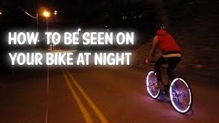 Bike Lights | LED Motion activated lights for bicycles, motorcycle and cars