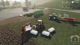 Farming Simulator 19 - 100 Meter Tools Everywhere - Unrealistic Felsbrunn - Timelapse #3