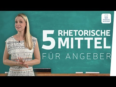 Rhetorische Stilmittel einfach erklärt I musstewissen Deutsch