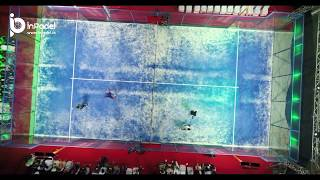Beautiful view of Padel Court in India | InPadel Sports