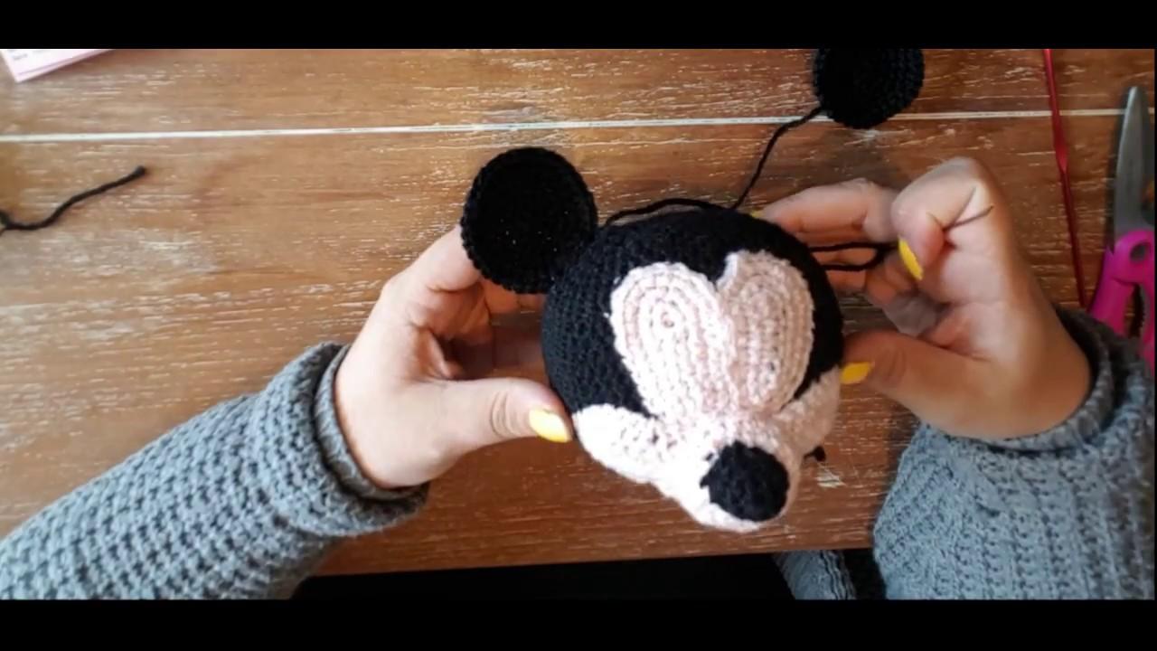 Micky Maus Ohren Und Schleife Häkeln Anleitung Youtube
