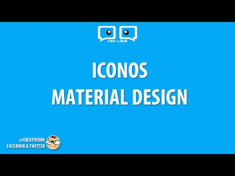 """Material Icons: Iconos para tus proyectos web, android, ios """"PNG, SVG, Font"""""""
