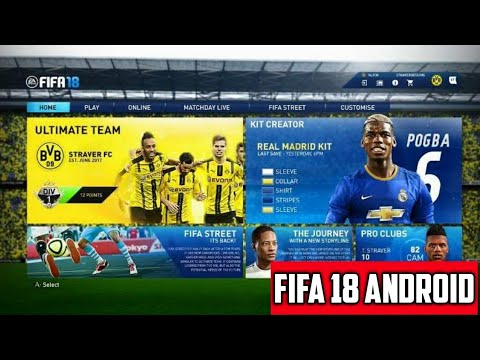 FIFA 18 Android Mobile 8.3V - Fifa 2018 Android Offline 1 GB FIFA 14 Mod Real Faces